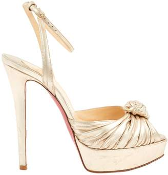 Christian Louboutin Leather Heels