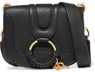 See by Chloé - Hana Mini Textured-leather Shoulder Bag - Black $335 thestylecure.com