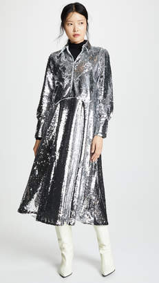 Ganni Sequins Dress