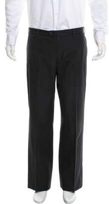 Etro Cropped Flat Front Dress Pants