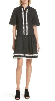 Women's Kate Spade New York Cotton Shirtdress $258 thestylecure.com