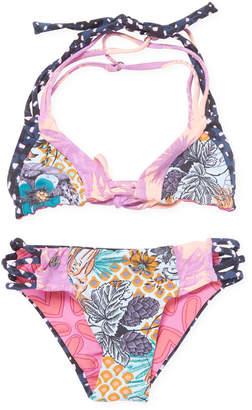 Maaji Little Girl's Tie Floral Bikini Set