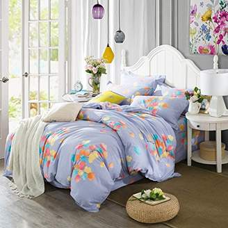 BB.er Cotton brushed printing bedding four sets of sheets quilt cover pillowcase