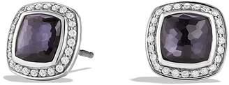 David Yurman Albion Earrings with Lavender Amethyst and Diamonds