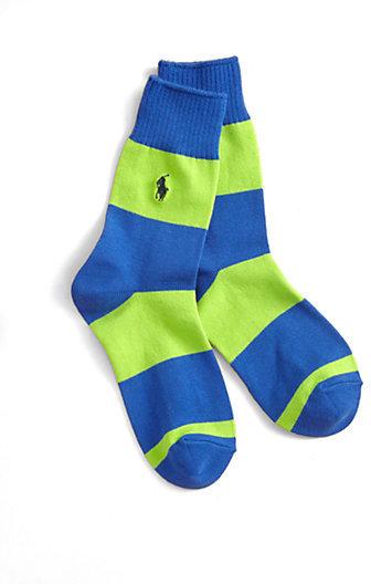 Ralph Lauren Boy's Rugby Crew Socks