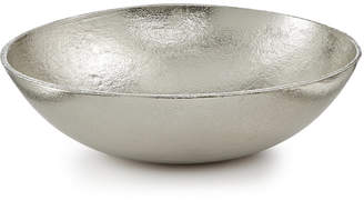 """Lucky Brand Closeout! 12"""" Textured Silver Metal Bowl, Created for Macy's"""