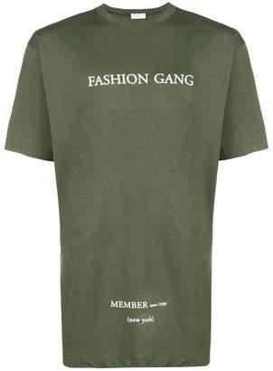 Ih Nom Uh Nit fashion gang printed T-shirt