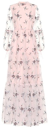 Erdem Exclusive to Mytheresa Cassandra floral organza gown