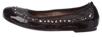 Marni Patent Leather Studded Flats