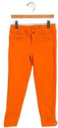 Ralph Lauren Girls' Mid-Rise Skinny Jeans