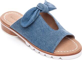 Bernardo Alice Bow Slide Sandal