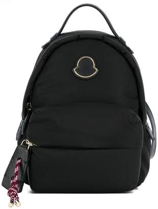 Moncler logo patch backpack