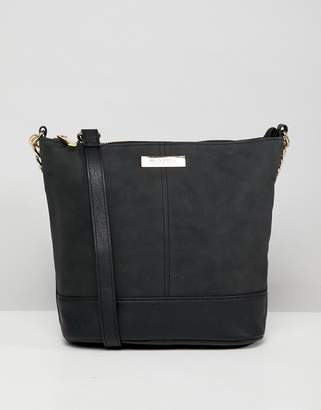 Carvela suedette cross body bag