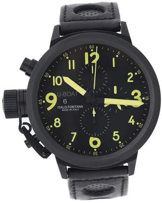 U-Boat Flightdeck Z 50 CAB Y Black PVD Case 50mm Watch