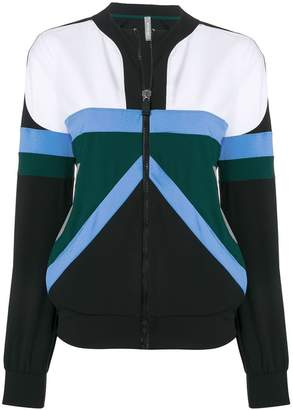 NO KA 'OI No Ka' Oi zip front colour block jacket