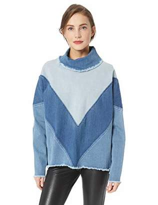 Ella Moss Women's Oversized Denim Pullover