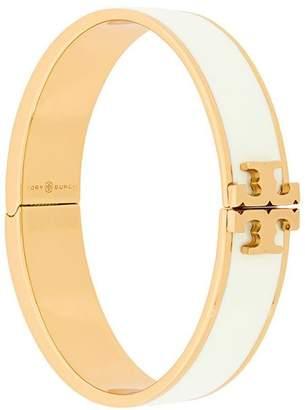 Tory Burch enameled raised logo bracelet