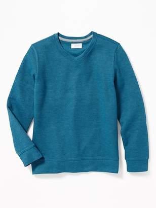 Old Navy French-Rib V-Neck Pullover for Boys