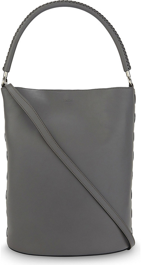 Max MaraMax Mara BoBag calf leather bucket bag