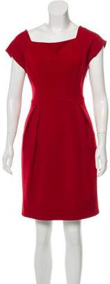 Diane von Furstenberg Tonal Midi Dress