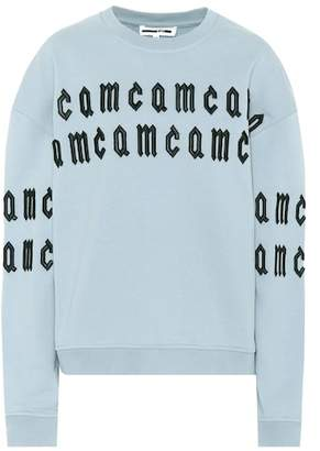 McQ Embroidered cotton sweatshirt