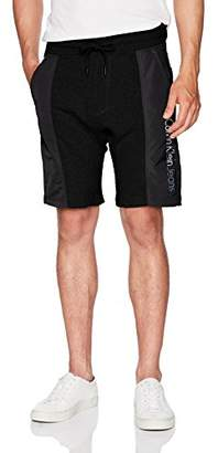 Calvin Klein Jeans Men's Rebel Sports Mixed Nylon Shorts