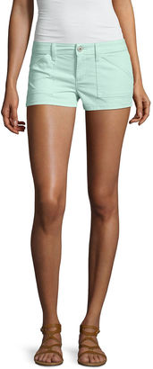 ARIZONA Arizona Twill Chino Shorts-Juniors $30 thestylecure.com