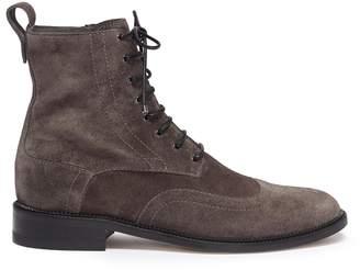 Jimmy Choo 'Hanah' suede combat boots