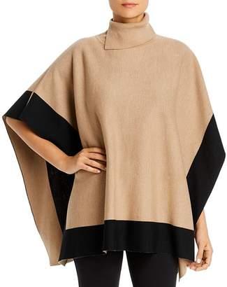 BOSS Lisandra Virgin Wool Poncho Sweater