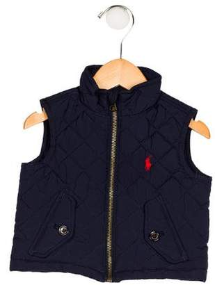 Ralph Lauren Boys' Quilted Vest