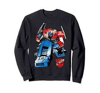 Transformers Optimus Prime Bend Long-Sleeve T-Shirt