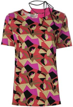 Marni geometric print T-shirt