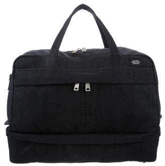 Jack Spade Denim Duffle Bag