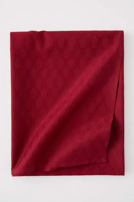 H&M Jacquard-weave Tablecloth - Red