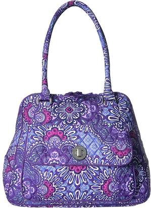 Vera Bradley Turnlock Satchel Satchel Handbags
