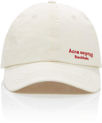 Acne Studios Embroidered Twill Baseball Cap