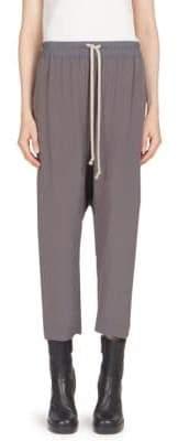 Rick Owens Cropped Drawstring Pants