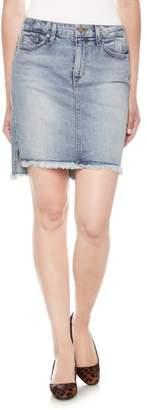 Joe's Jeans High/Low Denim Pencil Skirt