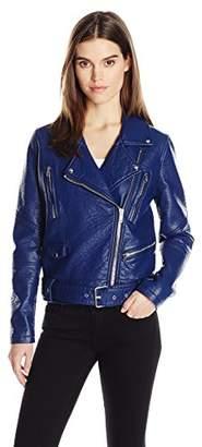 William Rast Women's Alexa Faux Leather Jacket