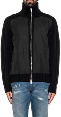 Dondup Black Wool Cardigan