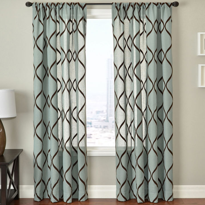 JCPenney SOFTLINE HOME FASHIONS Mystic Rod-Pocket Curtain Panel