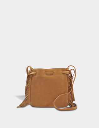 Gerard Darel Moonlight Bag in Tan Leather