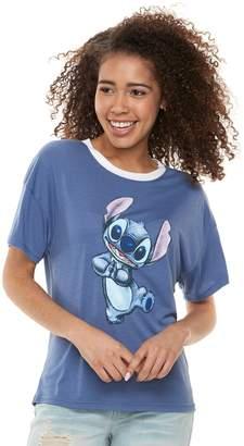 Disney's Lilo & Stitch Juniors' Dancing Graphic Tee