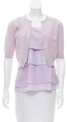 Brunello Cucinelli Cashmere & Silk Cardigan Set