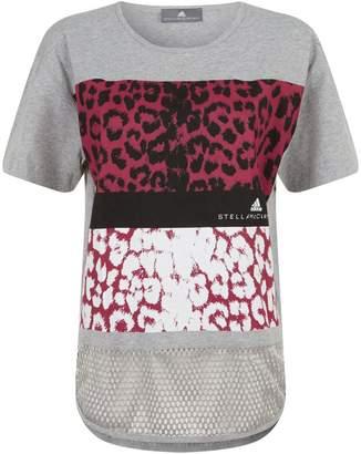 adidas by Stella McCartney Essentials Leopard T-Shirt