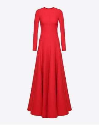 Valentino Crepe Couture Evening Dress