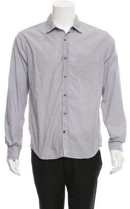 Vince Striped Button-Up Shirt w/ Tags