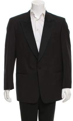 Cerruti Wool-Silk Blend Tuxedo Jacket