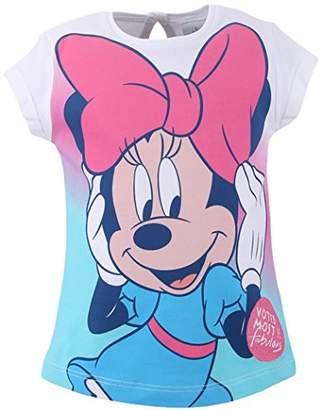 Disney Baby Girls' 71221 T-Shirt, (White 001)