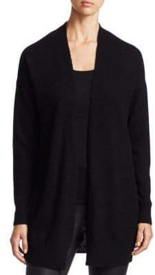 Saks Fifth Avenue COLLECTION Featherweight Cashmere Open Cardigan